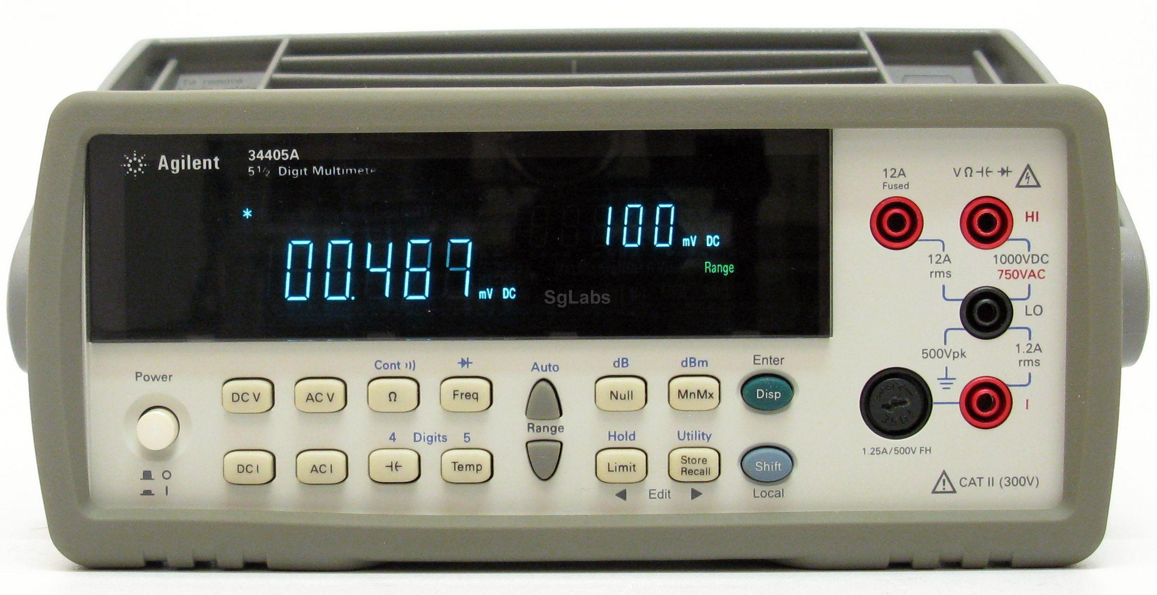 Agilent Digital Multimeter : Hp agilent keysight a