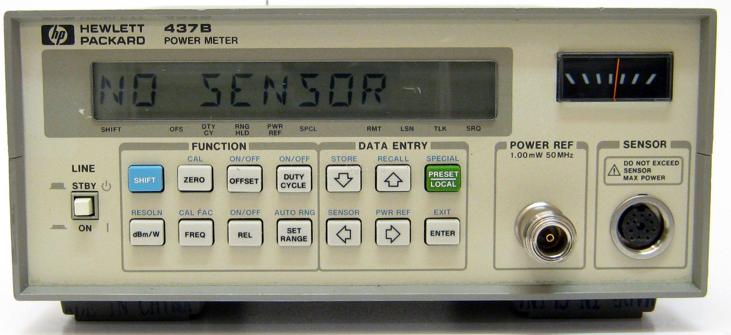Hp Power Meter : Hp agilent keysight b