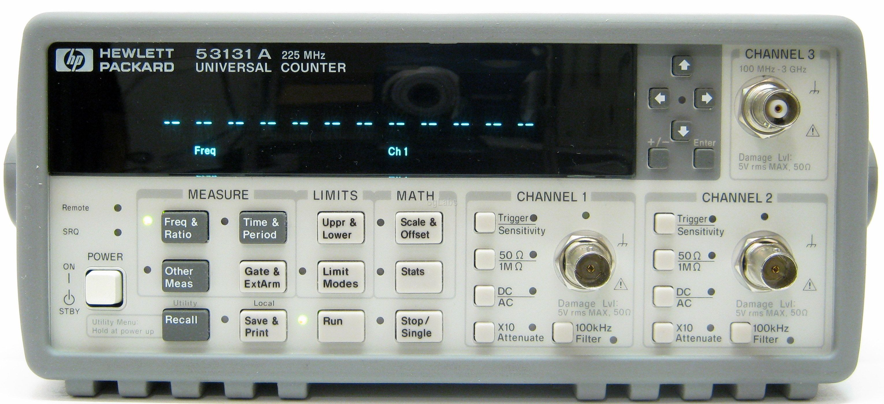 Agilent Frequency Counter : Hp agilent keysight a