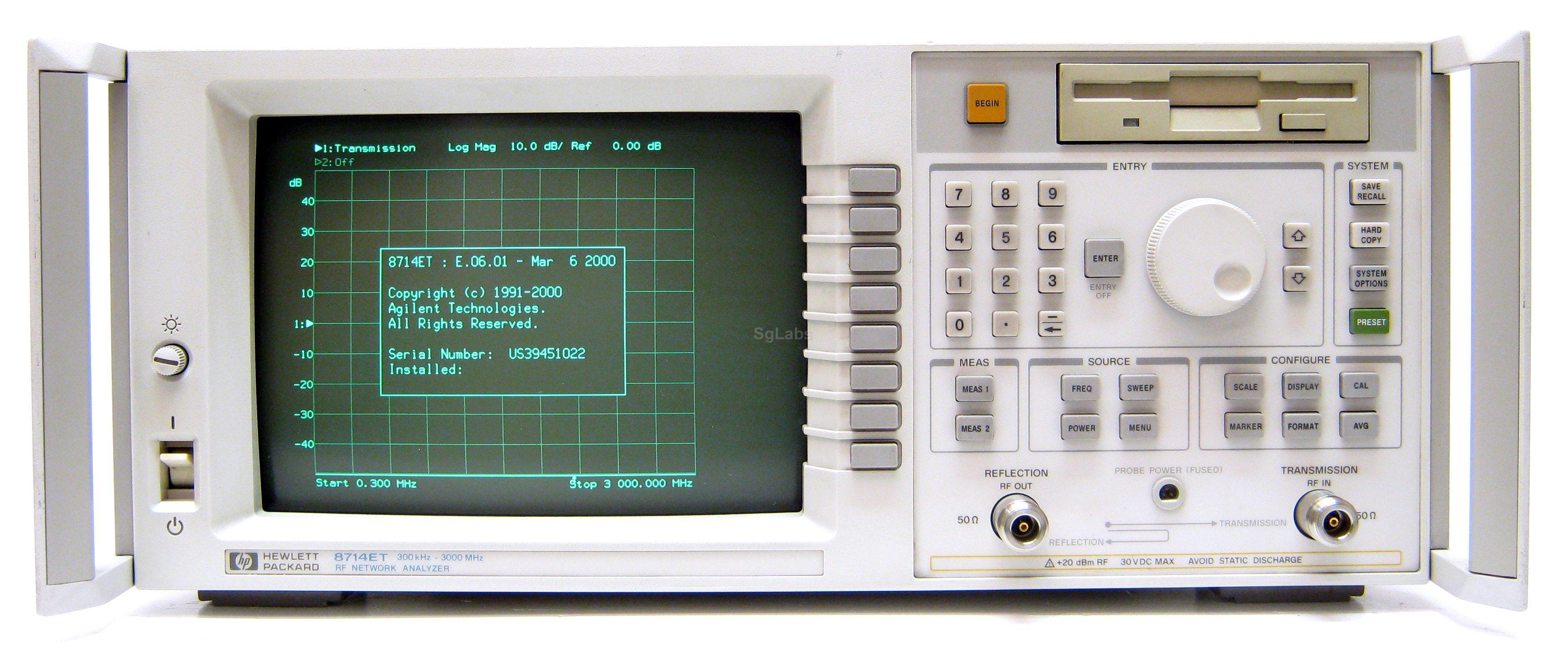 Image of Keysight-Technologies-Agilent-HP-8714ET by SAMBOW ADTECH Co.,Ltd.