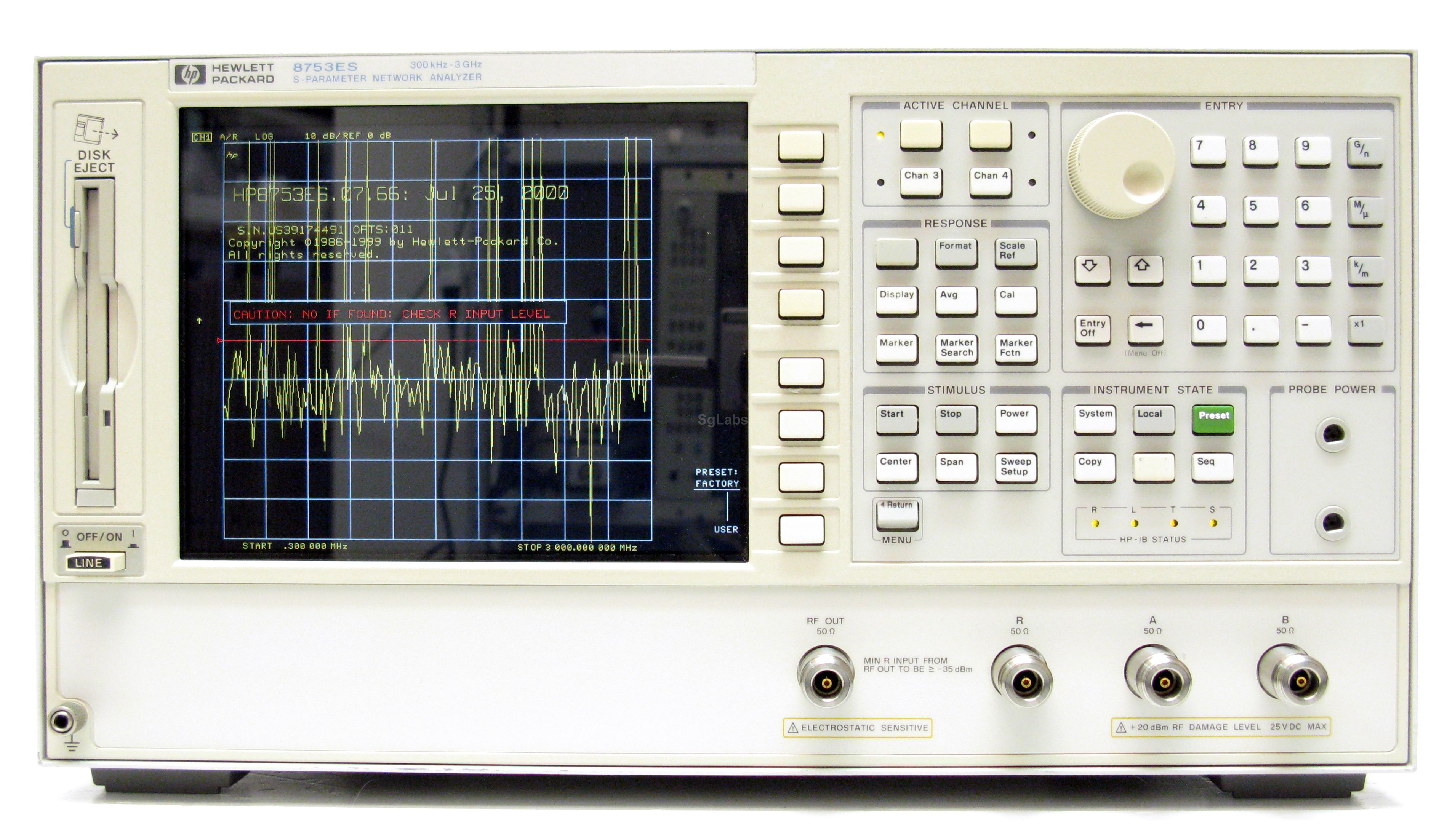 Hp Agilent Keysight 8753es Opt 011