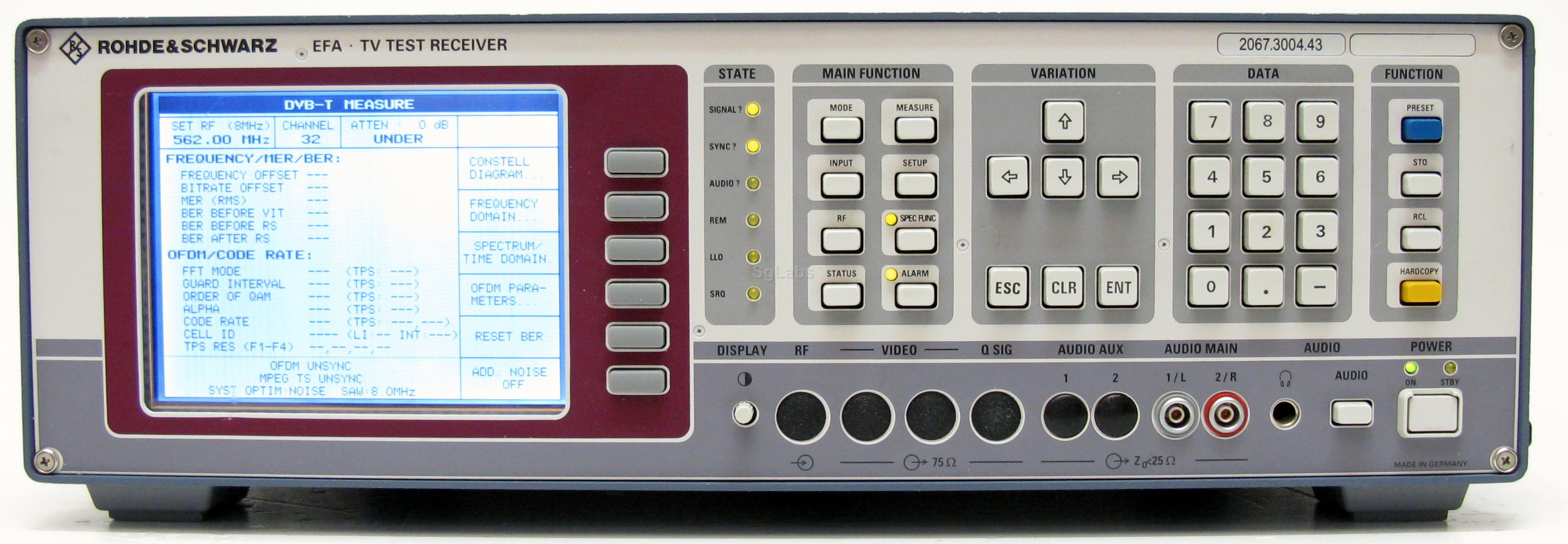 Rohde Amp Schwarz Efa 43