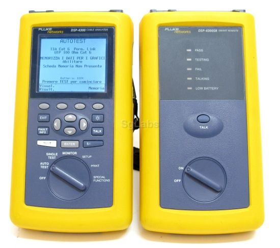 fluke dsp 4300 rh sglabs it fluke dsp-4300 user manual Fluke 4300 Cable Analyzer