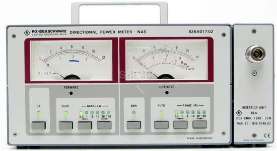 Directional Frequency Counter : Rohde schwarz nas z