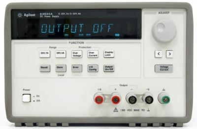 hp agilent keysight e3634a dc power supply 200w 25v  50v 7a  4a gpib very good ebay Manual Work Manual Traction