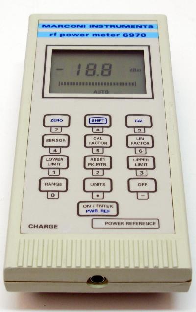 Hand Held Electrical Meters : Ifr marconi aeroflex hand held power meter