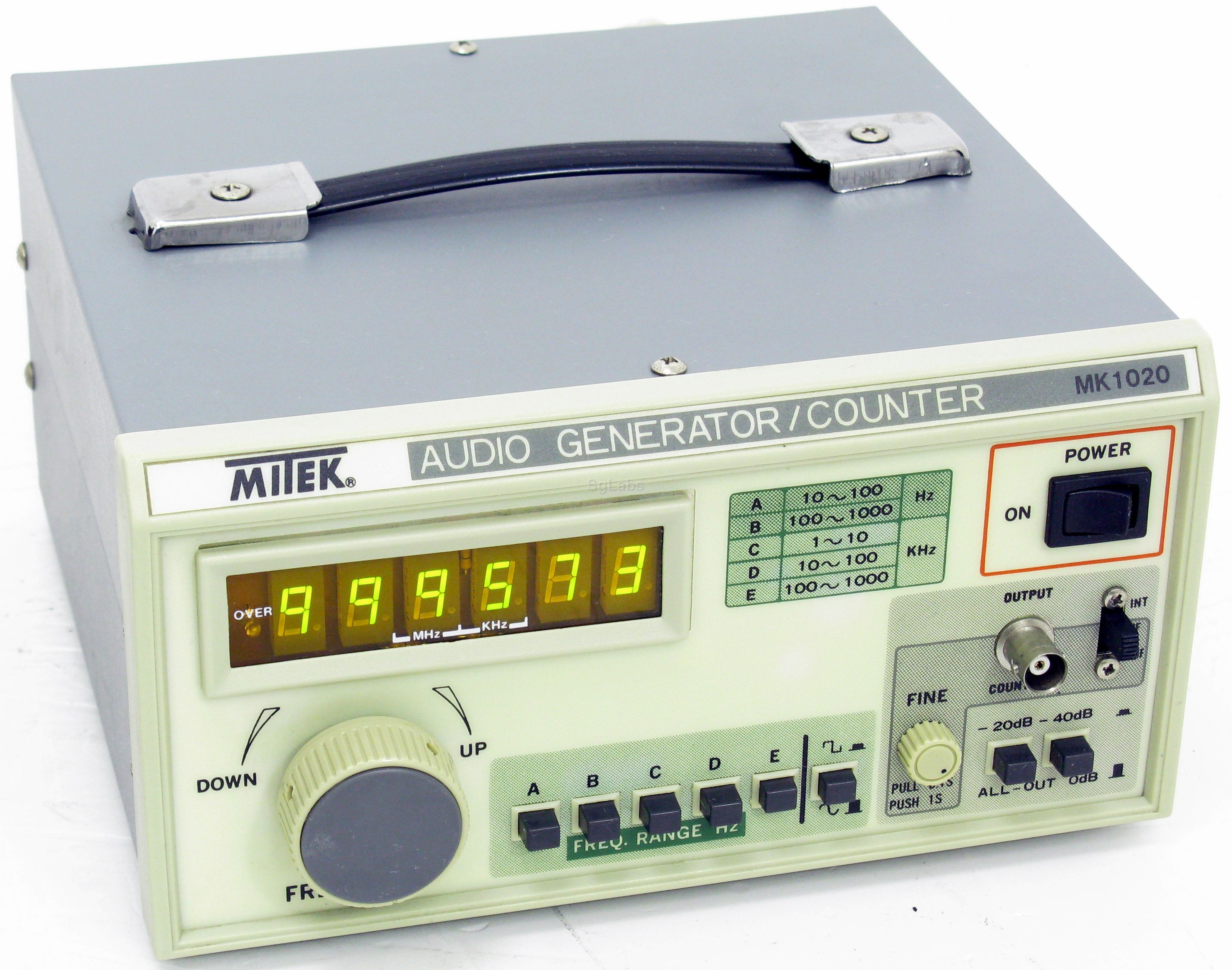 Mitek Mk1020 Ag 2603ad Audio Generator Above Pictures Can Be Different From Actually Sold Item As Well The Installed Options On Request Send You High Resolution And Of