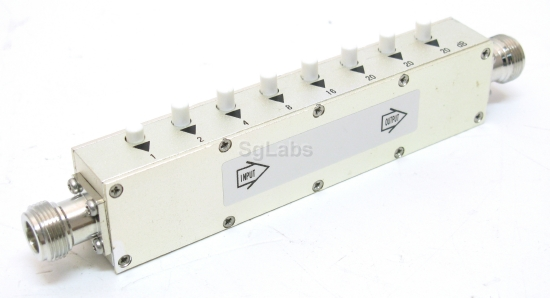 SGLabs, Step Attenuator 90dB