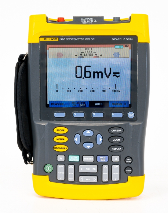 Fluke 199C Scopemeter 200MHz color